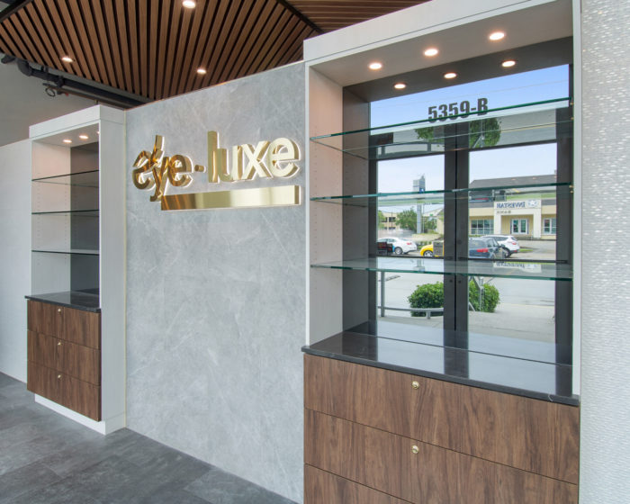 Eye Luxe Construction Project