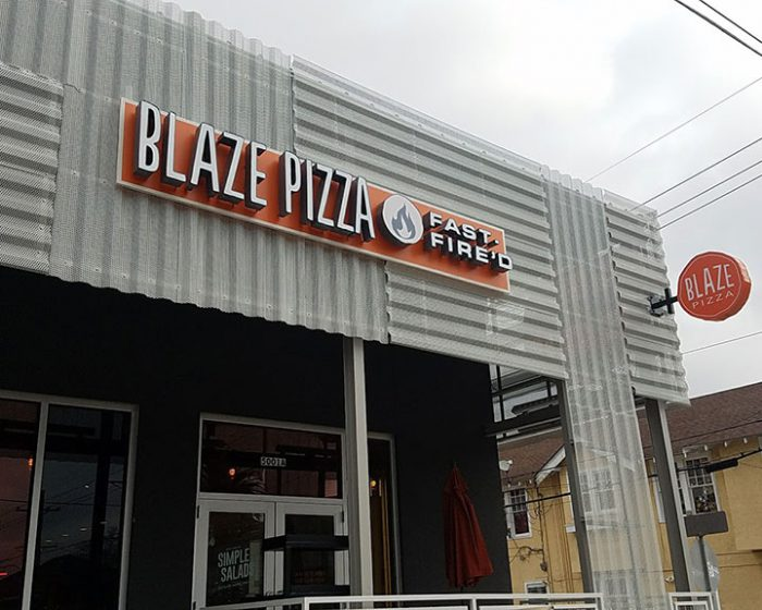 Blaze Pizza Construction Project