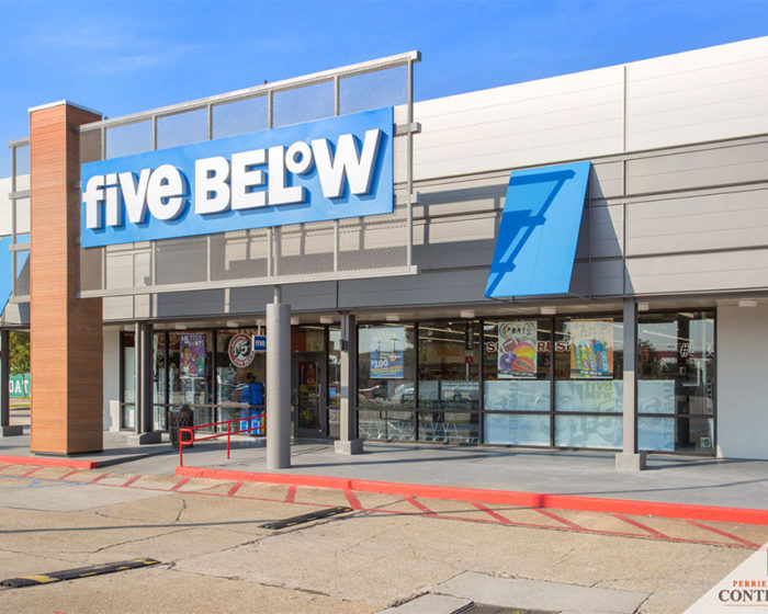Five Below Construction Project